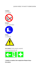 quick guide to safety sign design