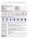 COSHH/DSEAR assessment - used motor and transmission oils