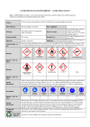 COSHH-DSEAR assessment guidance note