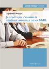 Je convoque l'assemblée générale annuelle de ma SARL