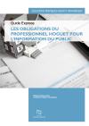 Les obligations du professionnel Hoguet pour l'information du public