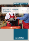 Safe Plant and Equipment Maintenance