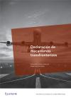 Declaración de mecanismos transfronterizos