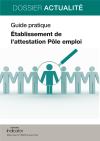 Établissement de l'attestation Pôle emploi