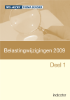Belastingwijzigingen 2009 - Deel 1