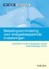 Belastingvermindering voor energiebesparende investeringen